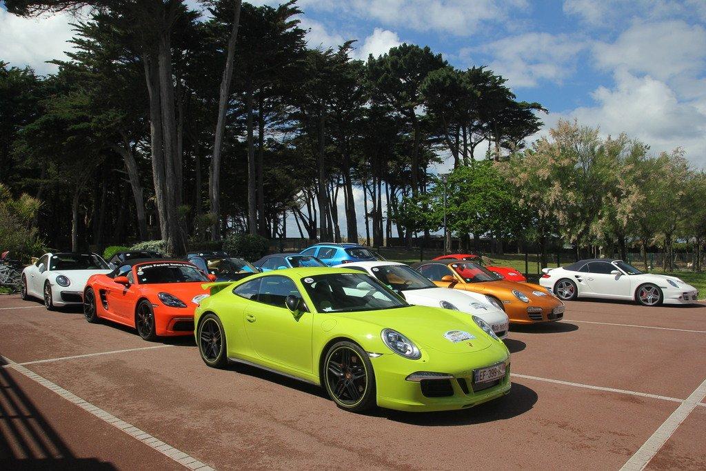 rallye clubs Porsche France