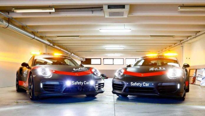 porsche 911 turbo 540 safety car 2018-05