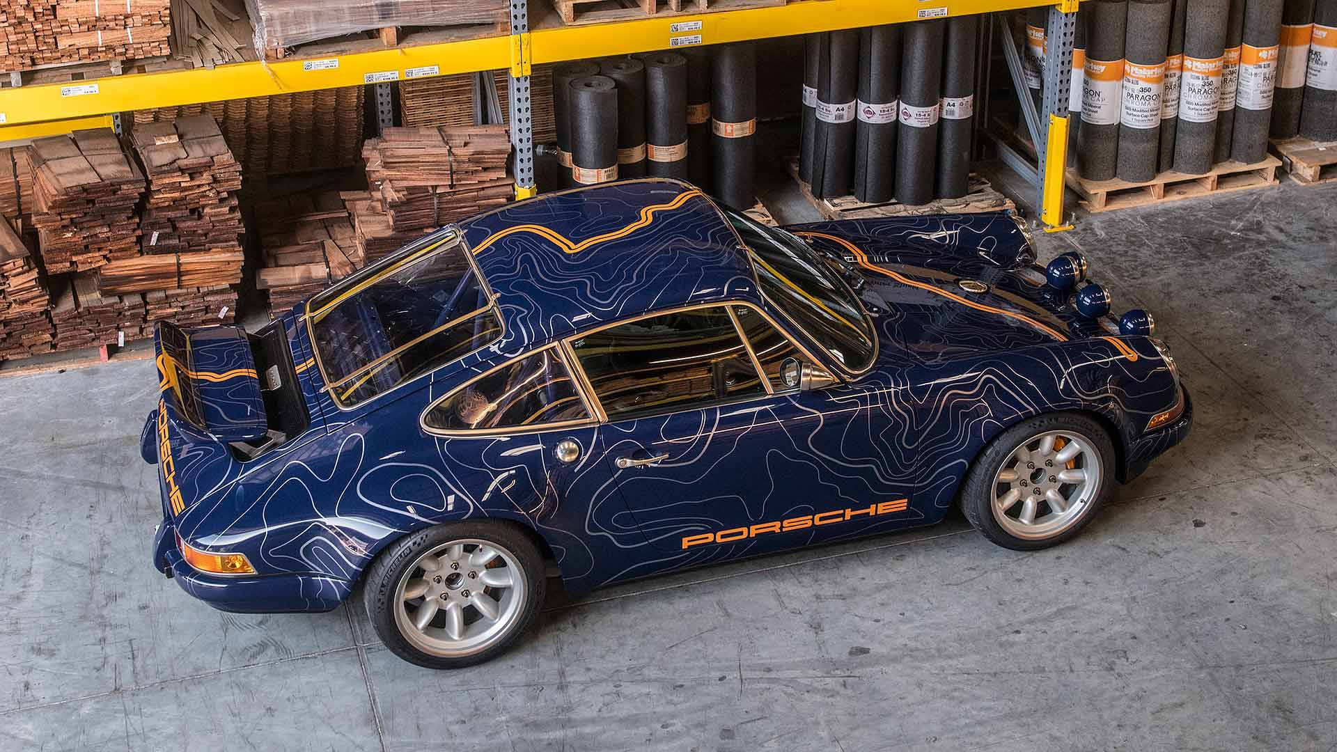Singer Mulholland Drive Car
