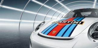 Porsche livrée Martini