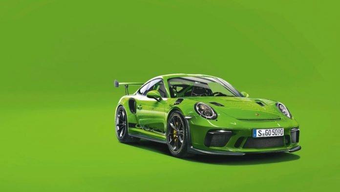 Porsche Vert Lézard