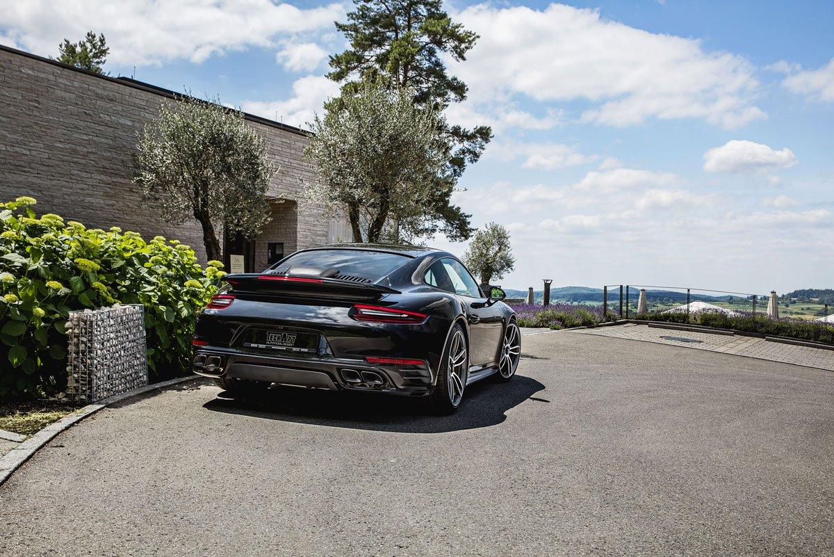 Dossier Techart Porsche 911 Turbo S 991 MK2 08