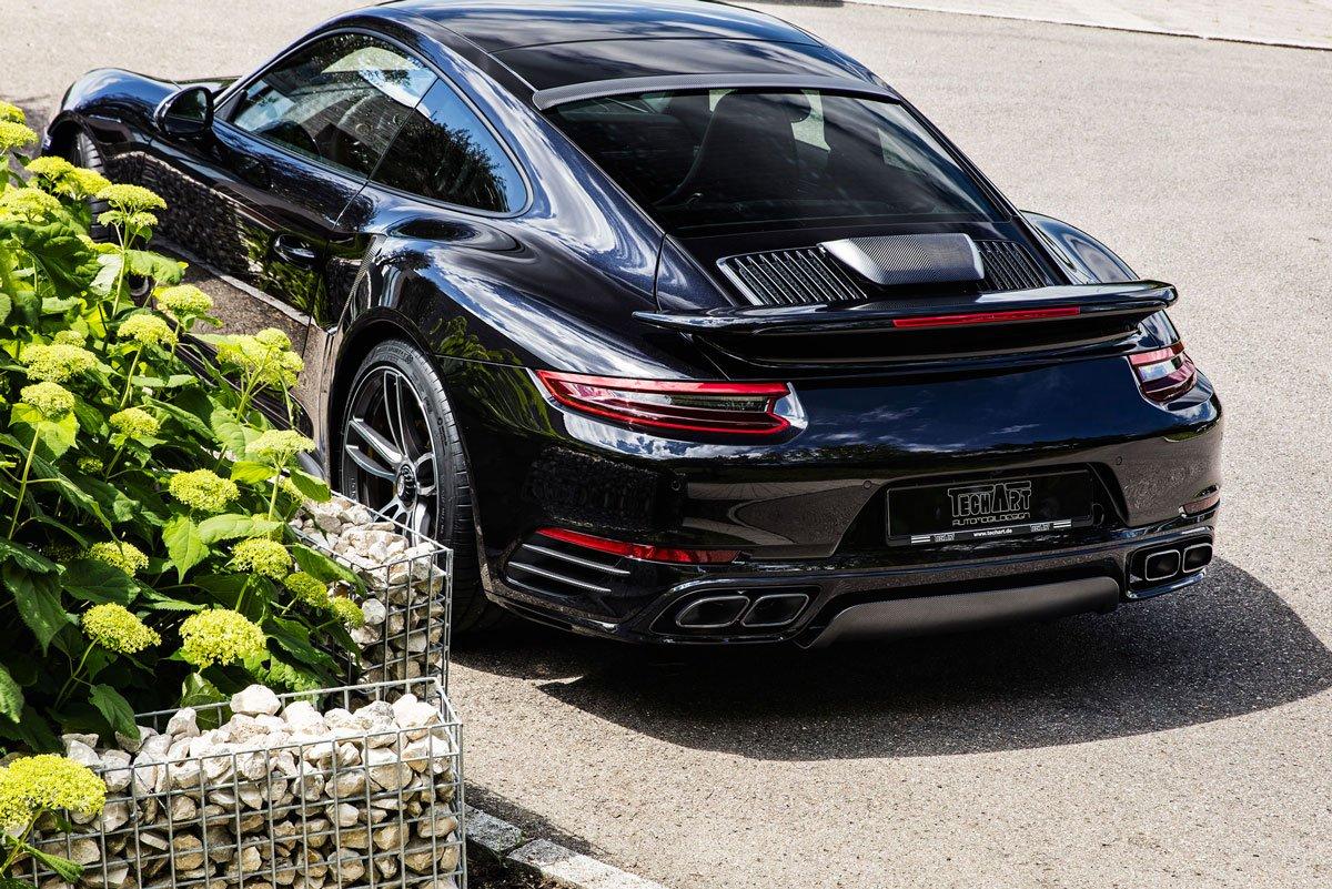 Dossier Techart Porsche 911 Turbo S 991 MK2 09