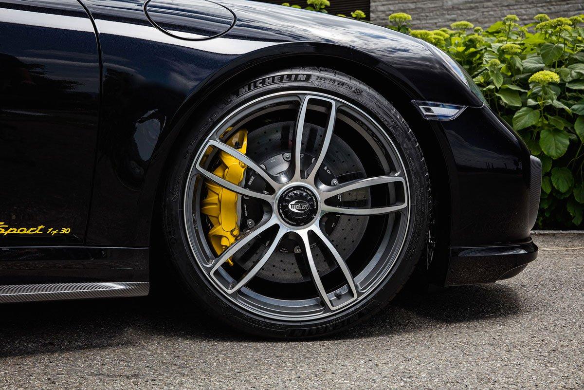Dossier Techart Porsche 911 Turbo S 991 MK2 12