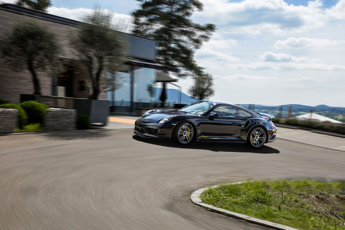 Dossier Techart Porsche 911 Turbo S 991 MK2 20