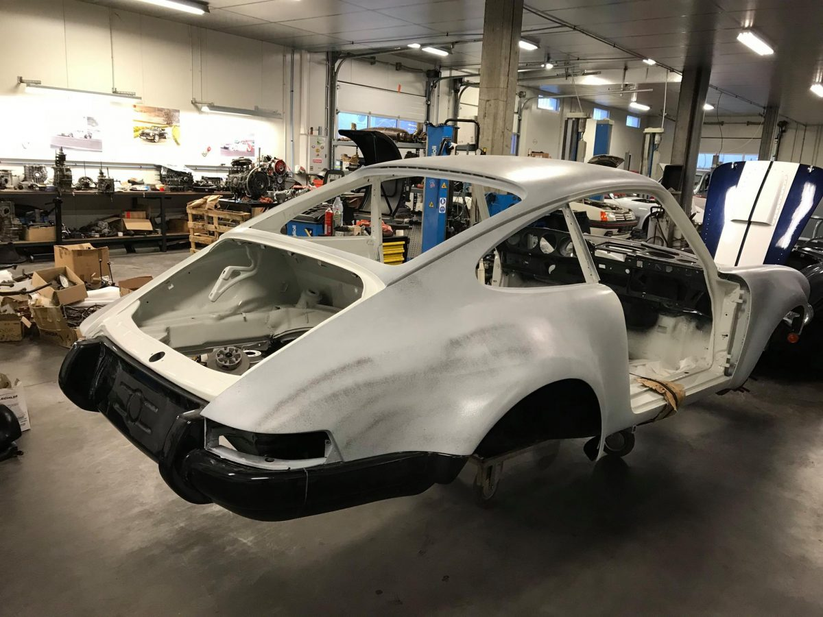 restauration porsche 911 speed classic