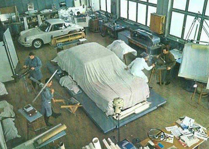 Evolution de la carrosserie des Porsche 911 2l de 1965 à 1969 10