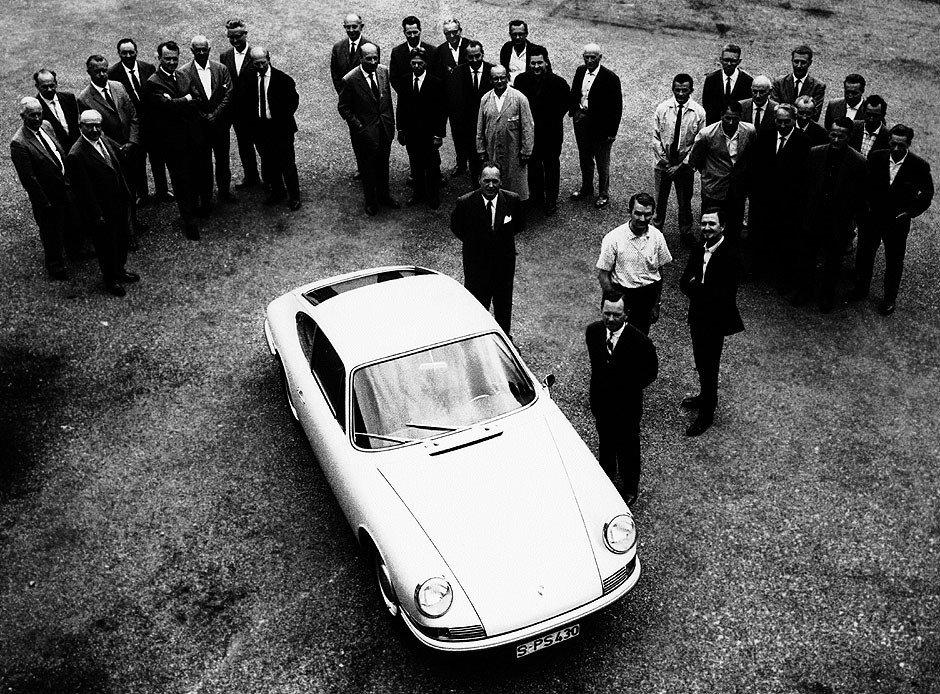 Evolution de la carrosserie des Porsche 911 2l de 1965 à 1969 11