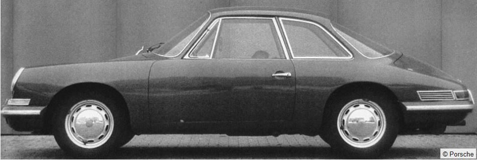 Evolution de la carrosserie des Porsche 911 2l de 1965 à 1969 05