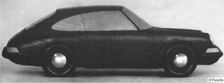 Evolution de la carrosserie des Porsche 911 2l de 1965 à 1969 07