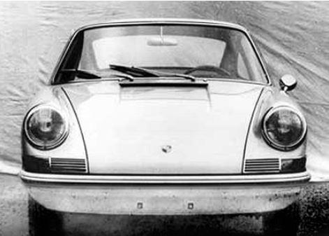 Evolution de la carrosserie des Porsche 911 2l de 1965 à 1969 08