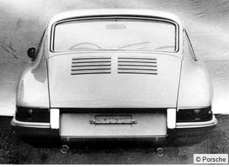 Evolution de la carrosserie des Porsche 911 2l de 1965 à 1969 09