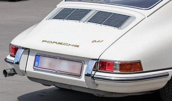 Evolution de la carrosserie des Porsche 911 2l de 1965 à 1969 21