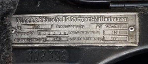 Evolution de la carrosserie des Porsche 911 2l de 1965 à 1969 25