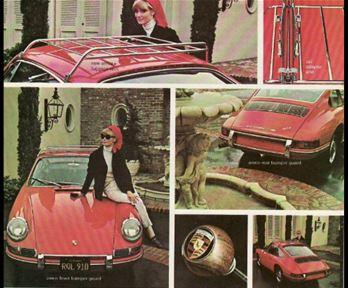 Evolution de la carrosserie des Porsche 911 2l de 1965 à 1969 29