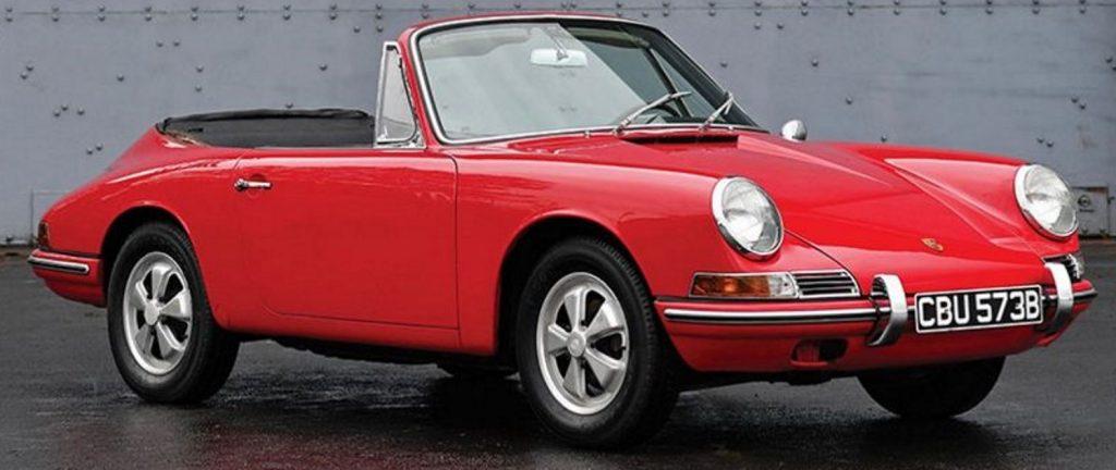 Evolution de la carrosserie des Porsche 911 2l de 1965 à 1969 35