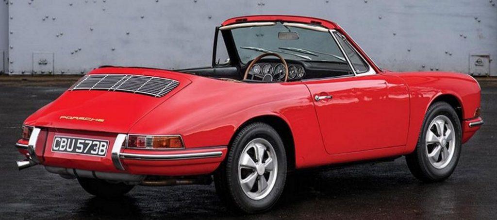 Evolution de la carrosserie des Porsche 911 2l de 1965 à 1969 36
