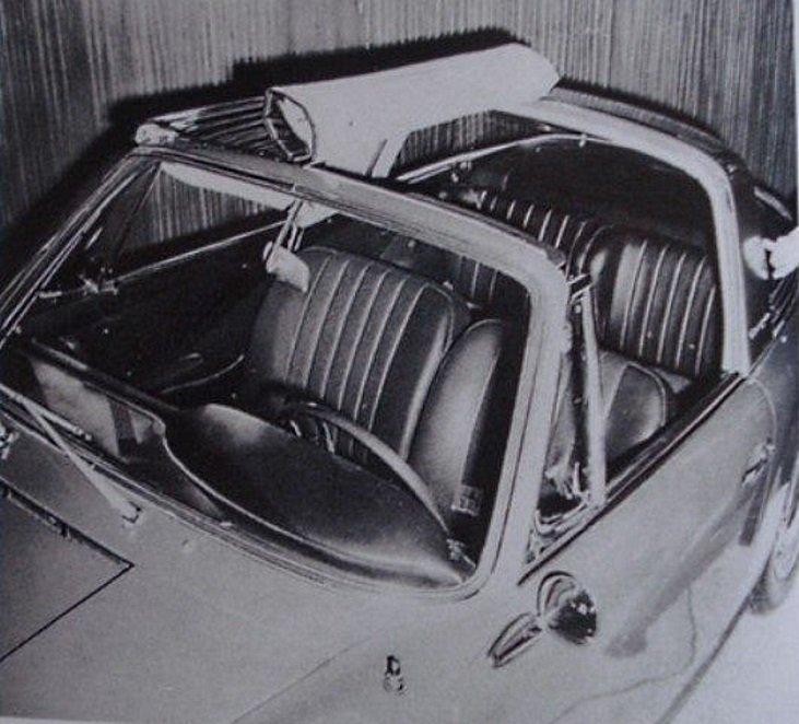 Evolution de la carrosserie des Porsche 911 2l de 1965 à 1969 37