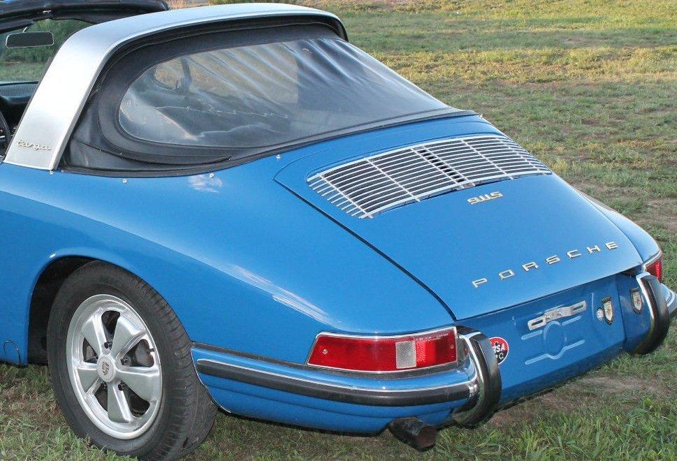 Evolution de la carrosserie des Porsche 911 2l de 1965 à 1969 39
