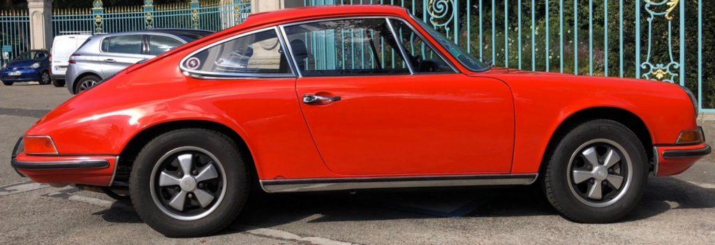 Evolution de la carrosserie des Porsche 911 2l de 1965 à 1969 48