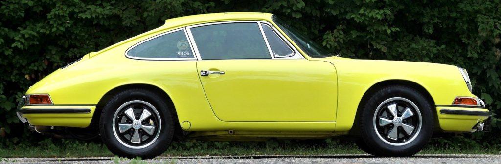 Evolution de la carrosserie des Porsche 911 2l de 1965 à 1969 53