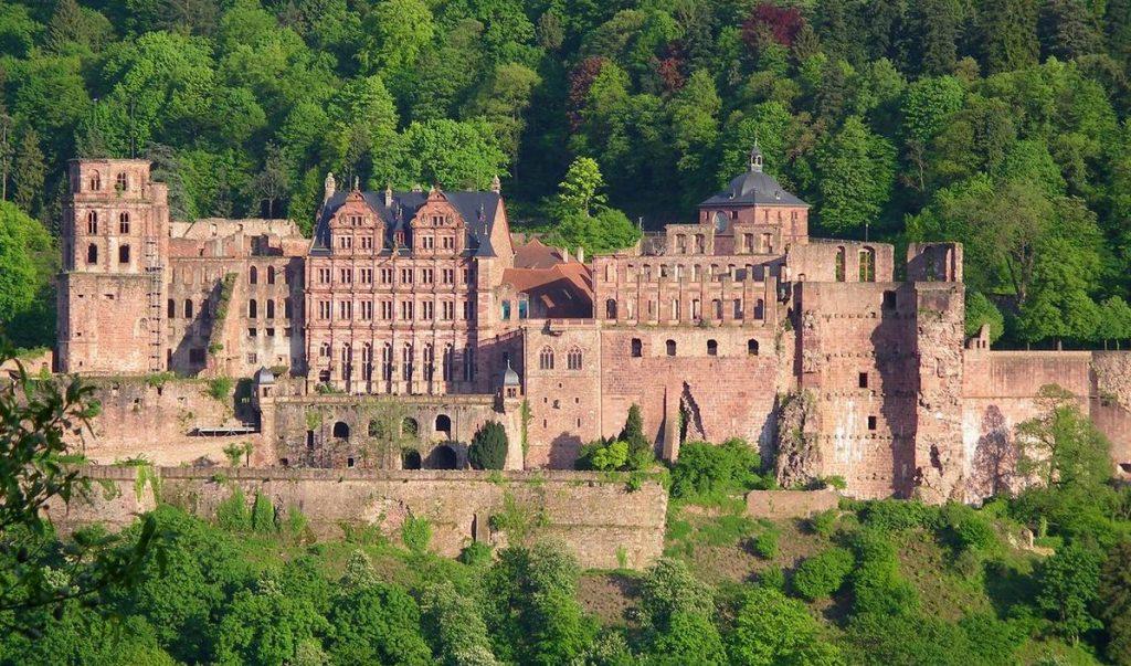 meeting porsche 914 2019 Heidelberg Schloss