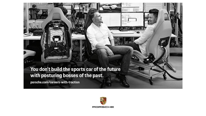 Campagne publicitaire Porsche