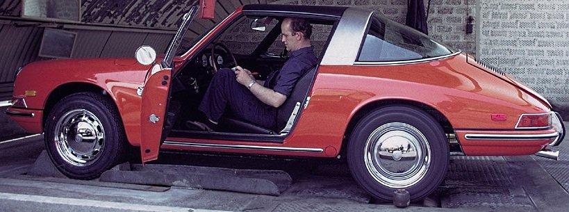 Porsche 911 millésime 1968 équipements intérieurs