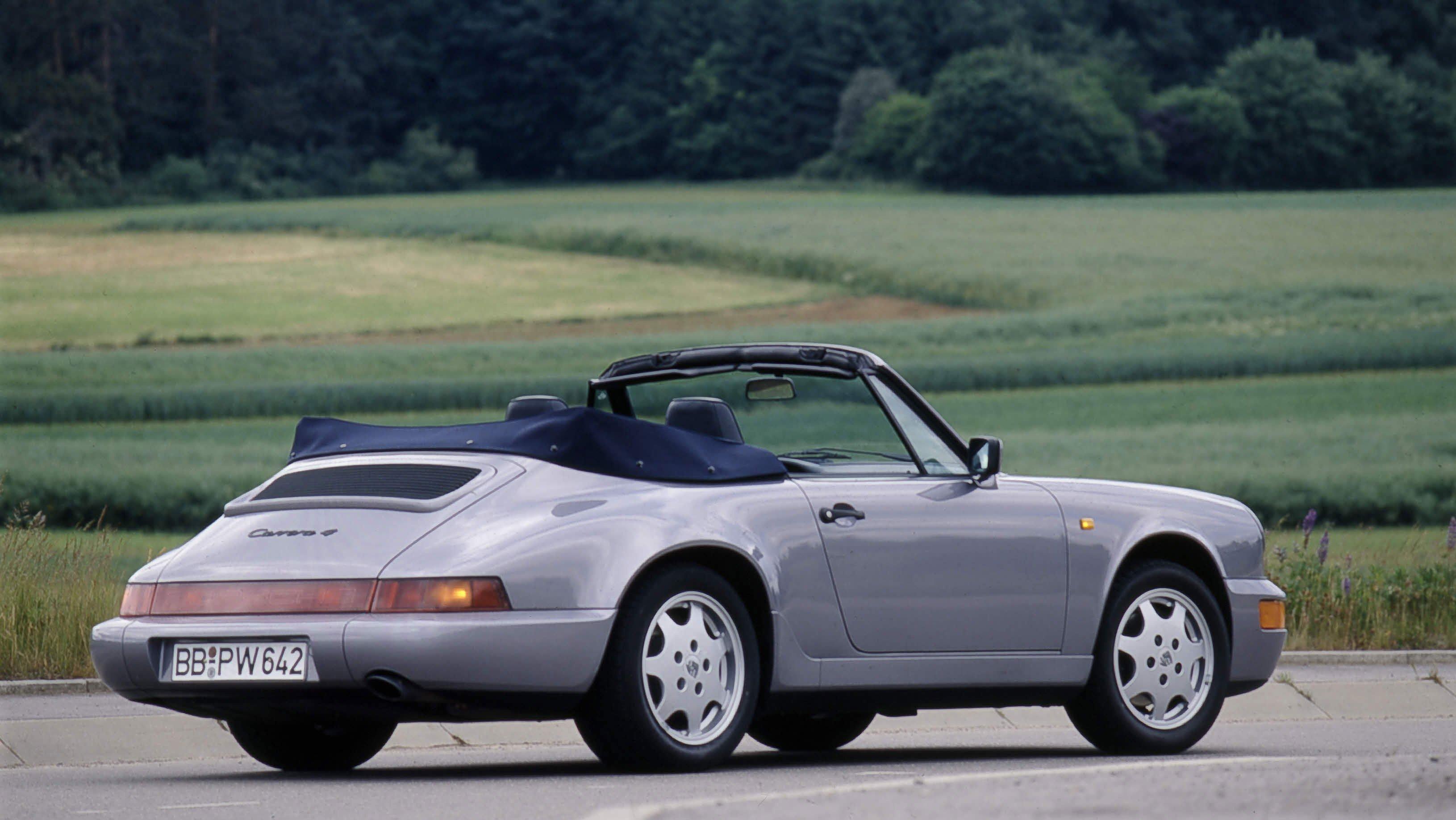 Porsche 911 type 964 3eme génération 1988 1994 01