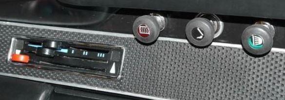 bouton planche de bord porsche 911 2l 1969
