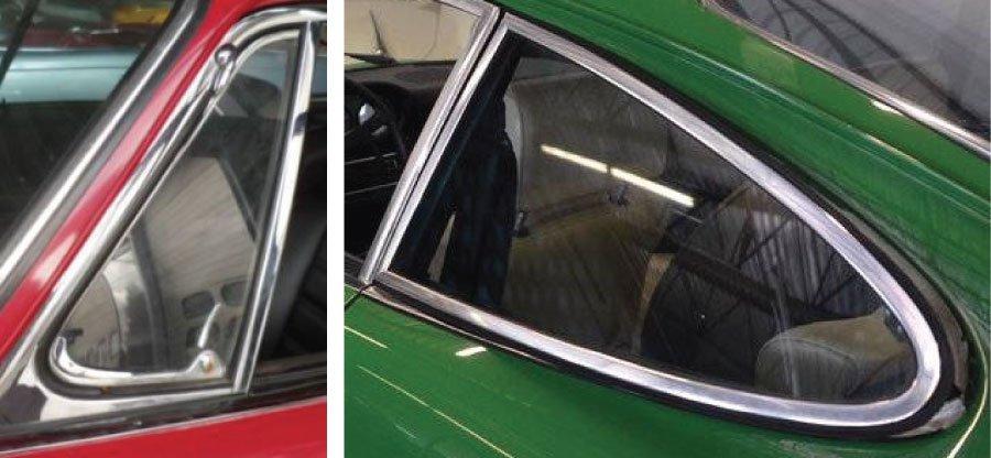 deflecteurs de vitres ouvrants Porsche 911 1967