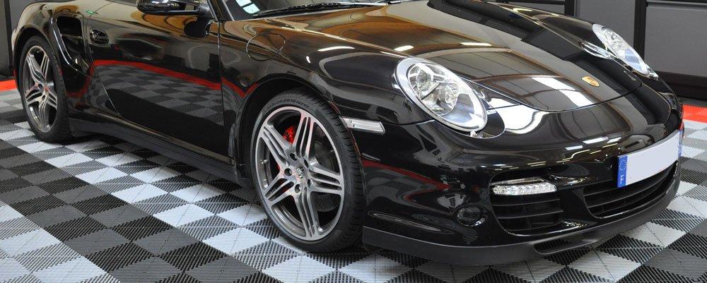 entretien jantes alu porsche 911 Turbo produit Swissvax
