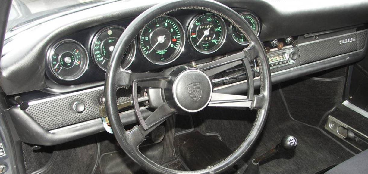 intérieur Porsche 911 2l 1965-1969