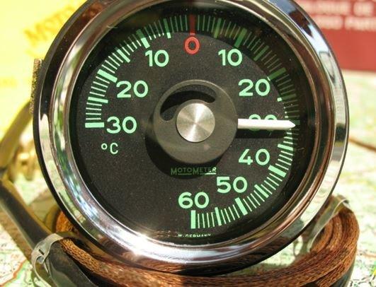 motometer témoin température extérieur Porsche 911 1965-1969