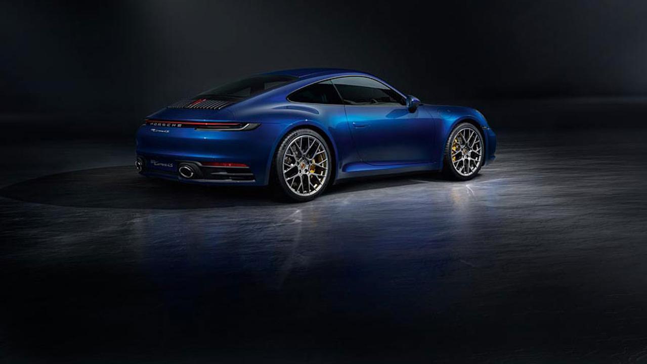 nouvelle porsche 911 992 2018