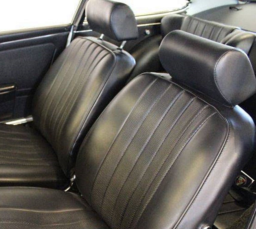 option siège Recaro Porsche 911 Millesime 1968