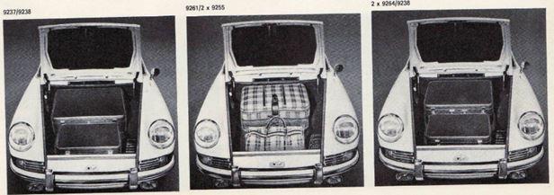 pack bagage Porsche 911 Classic 2l 1965 1969 02