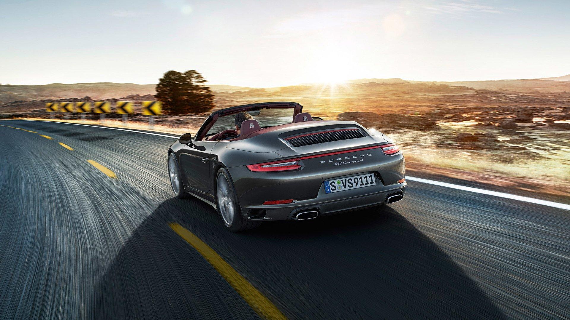 porsche 911 991 Carrera 4 Cabriolet mk2 2015-2019 02