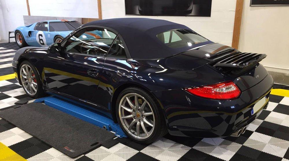 traitement capote Porsche 911 Swissvax