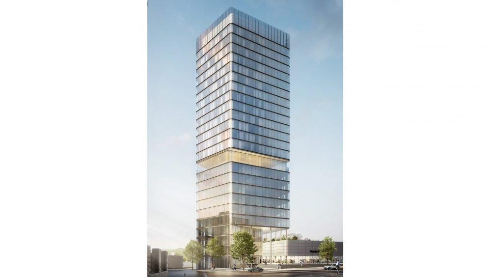 Porsche design tower et Centre Porsche Stuttgart 02