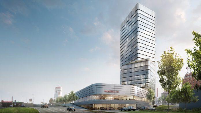 Porsche design tower et Centre Porsche Stuttgart 03