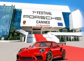 Visuel 1er Festival Porsche de Cannes