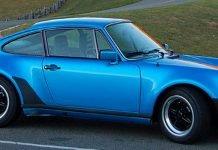 Porsche 911-3.0 Turbo 930-italienne-Bleu-Minerva