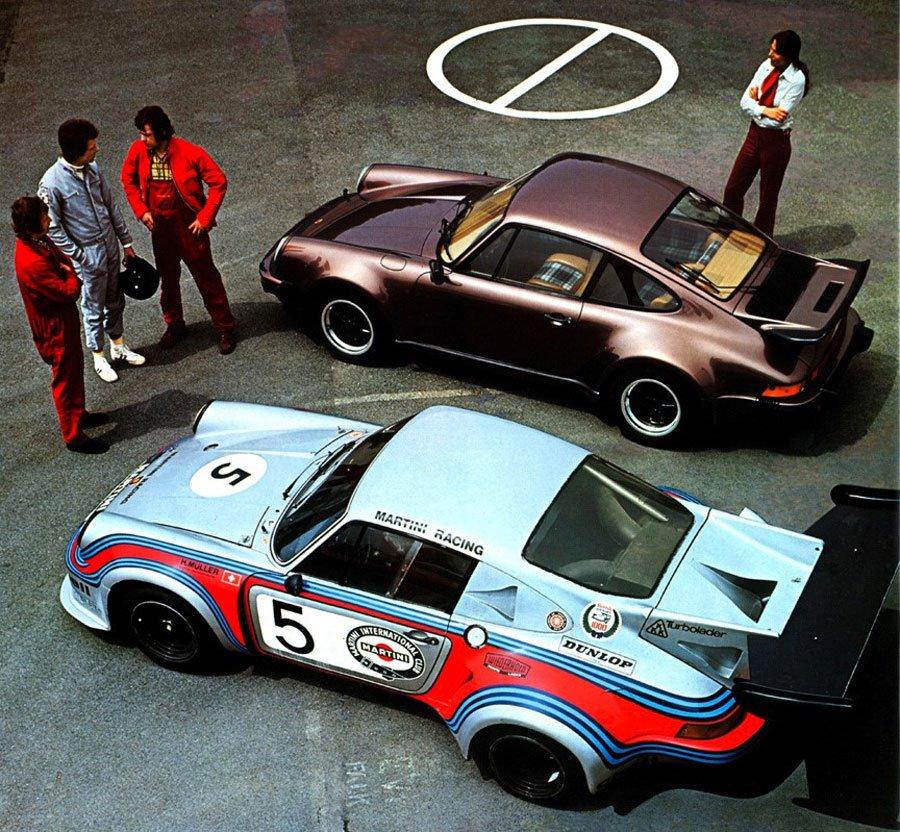 9 Porsche 911 pub turbo