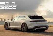 Porsche Taycan Sport Turismo 2020