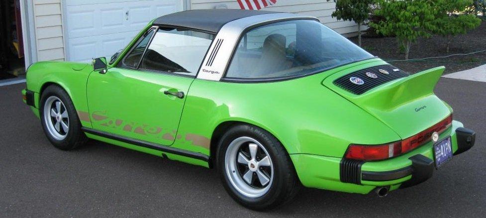 Porsche 911 2.7 carrera targa