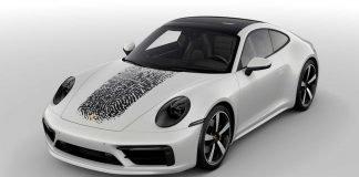 Avoir son empreinte sur le capot de sa Porsche 911