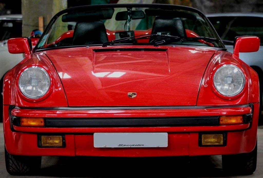 carrosserie Porsche 911 3.2 pare brise speedster