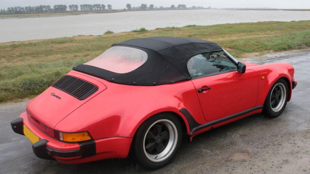 carrosserie Porsche 911 3.2 speedster capote