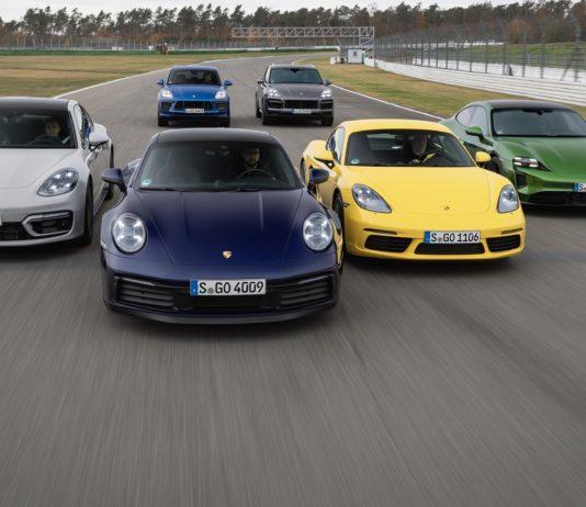 resultats vente Porsche 2020